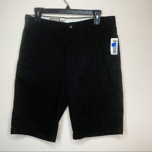 NWT Volcom Men's Black Shorts Size 31